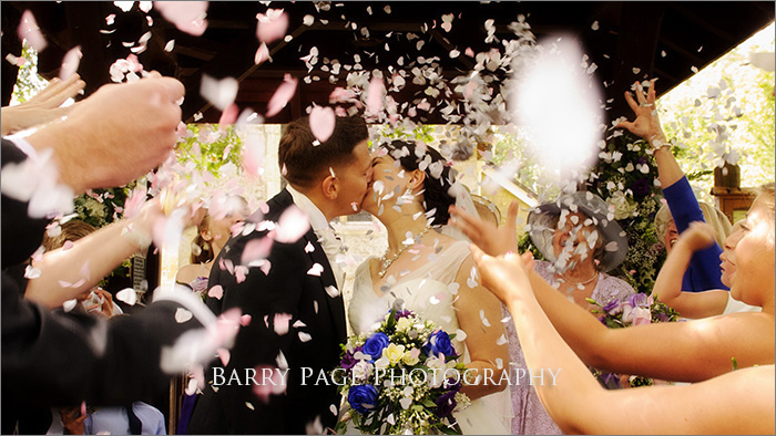 Wedding Confetti by Barry Page