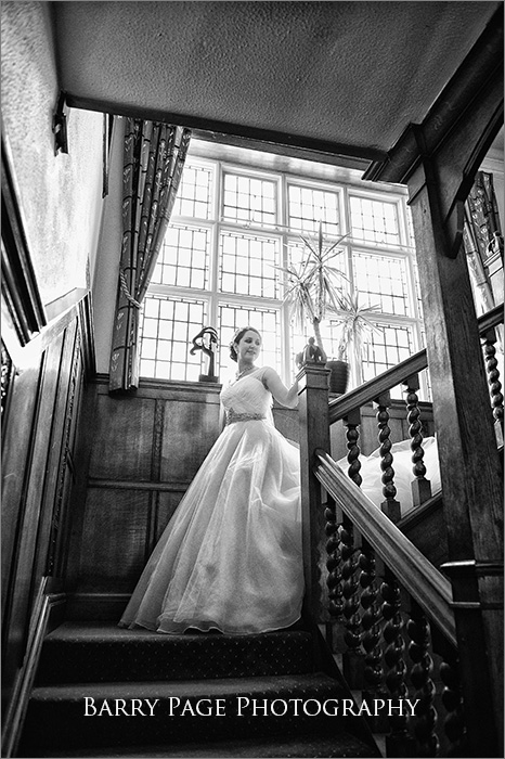 Yew Lodge Staircase by Barry Page Photography