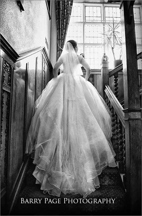 Beautiful Wedding Drees by Barry Page Photography