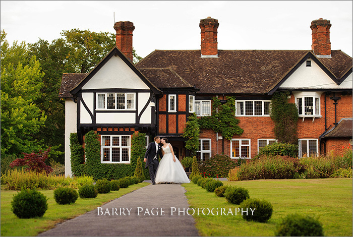 Yew Lodge Evening by Barry Page