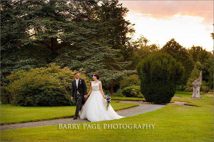 Yew Lodge Garden Wedding by Barry Page