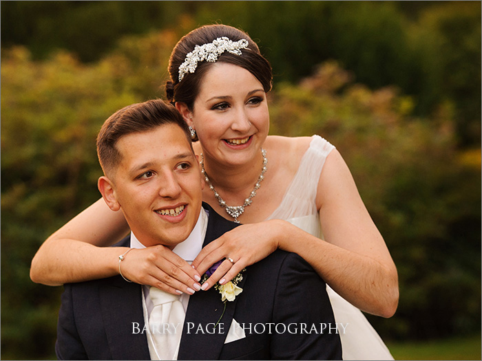 Yew Lodge Wedding by Barry Page
