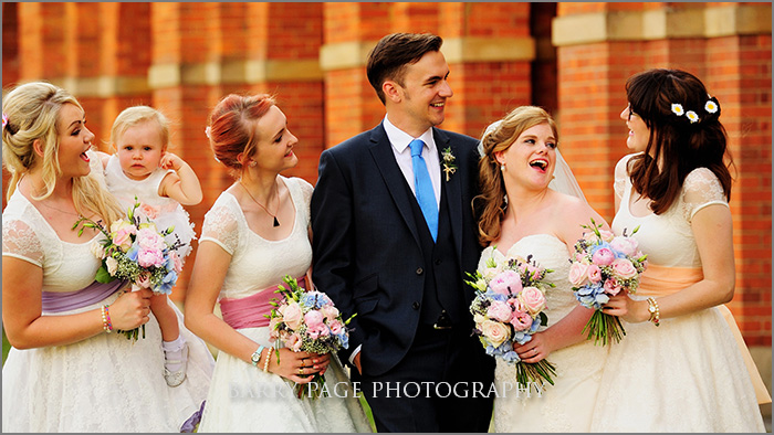 Stylish Weddings at Christ's Hospital by Barry Page