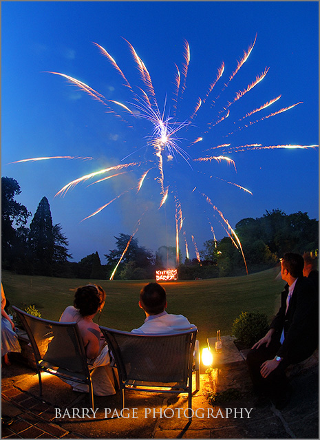 Ghyll Manor Fireworks by Barry Page