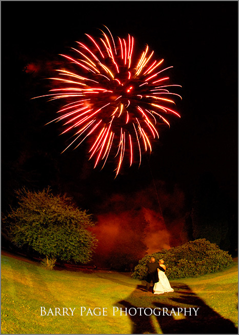 Fireworks at Highley Manor by Barry Page