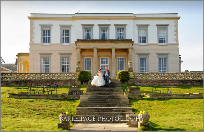 Buxted Park Wedding by Barry Page