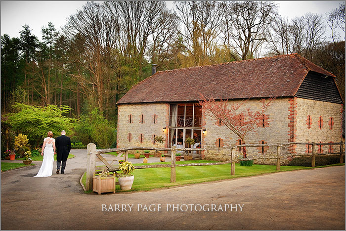 Bartholomew Barn by Barry Page