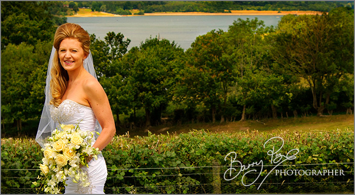 Beautiful bride in a beautiful location by Barry Page