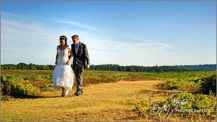 Wedding Photography in the New Forest by Barry Page