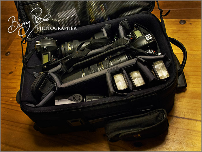 Barry Page's camera bag