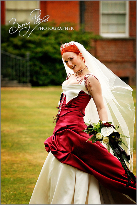 Clandon Park Wedding by Barry Page