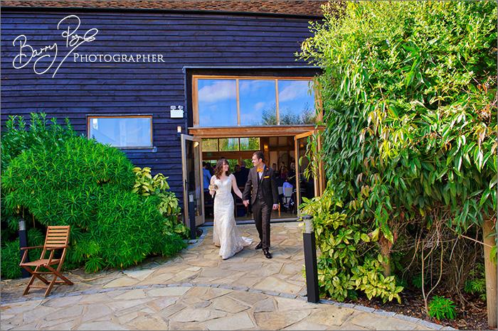 Joyful Wedding Photography – The Barn at Roundhurst