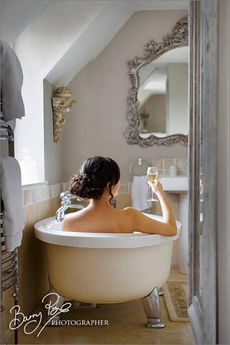 Champagne and Bath