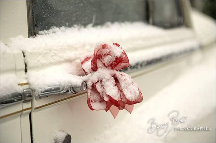 bentley in snow