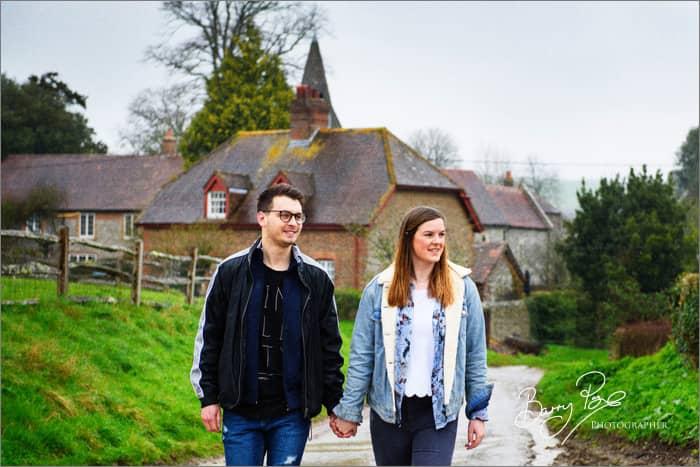 South Stoke – Pippa and Warren Pre Shoot